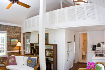 Ginger Cottage Interior at Simonton Court Key West